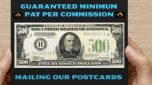 Mail PostCards 4 Cash! $500-$4000 Per Commission! Call 888-433-5954 Ext 888