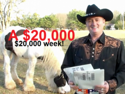 Generate $20,000 a month passively.