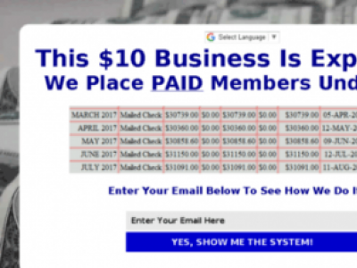 Turn $10 Into $30k Per Month
