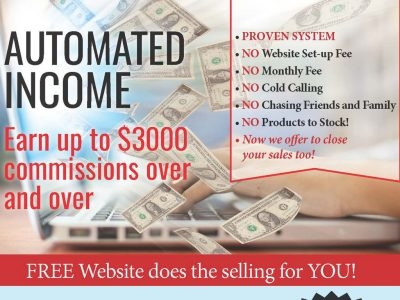 Earn up to $3000 commissions over and over
