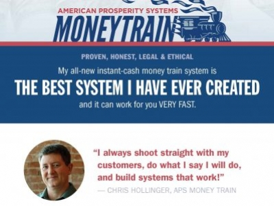 Get Onboard the Money Train