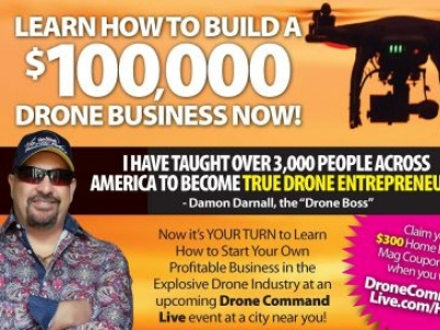 Drone Command Live Will Help You Launch Exciting $100,000 Business