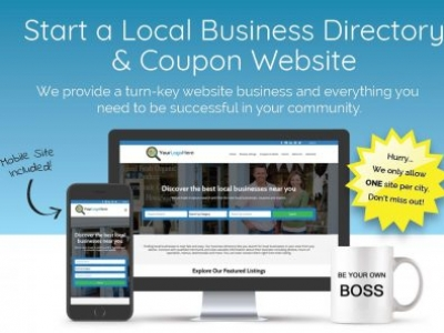 Start a Local Business Directory & Coupon Website in Your City!