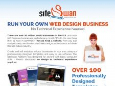 Start Your Own Website Design Business with SiteSwan