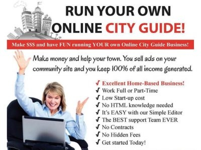 CityUSA - Run your own Online City Guide and make Money!