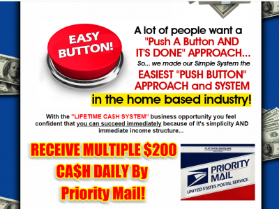 Easiest Push Button Approach in the Home-Based Business Industry