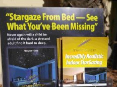 STARSCAPES Stargazing Bedrooms & SPACE Rooms™ for residential bedooms and hotel/motels.